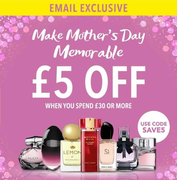 The Fragrance Shop – Special Offers for Mothers Day !!