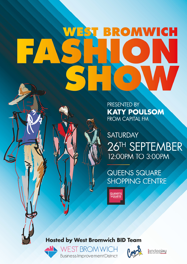 **DONT MISS** Fashion Show Saturday 26th September 2014 featuring Katy Poulsom from Capital FM