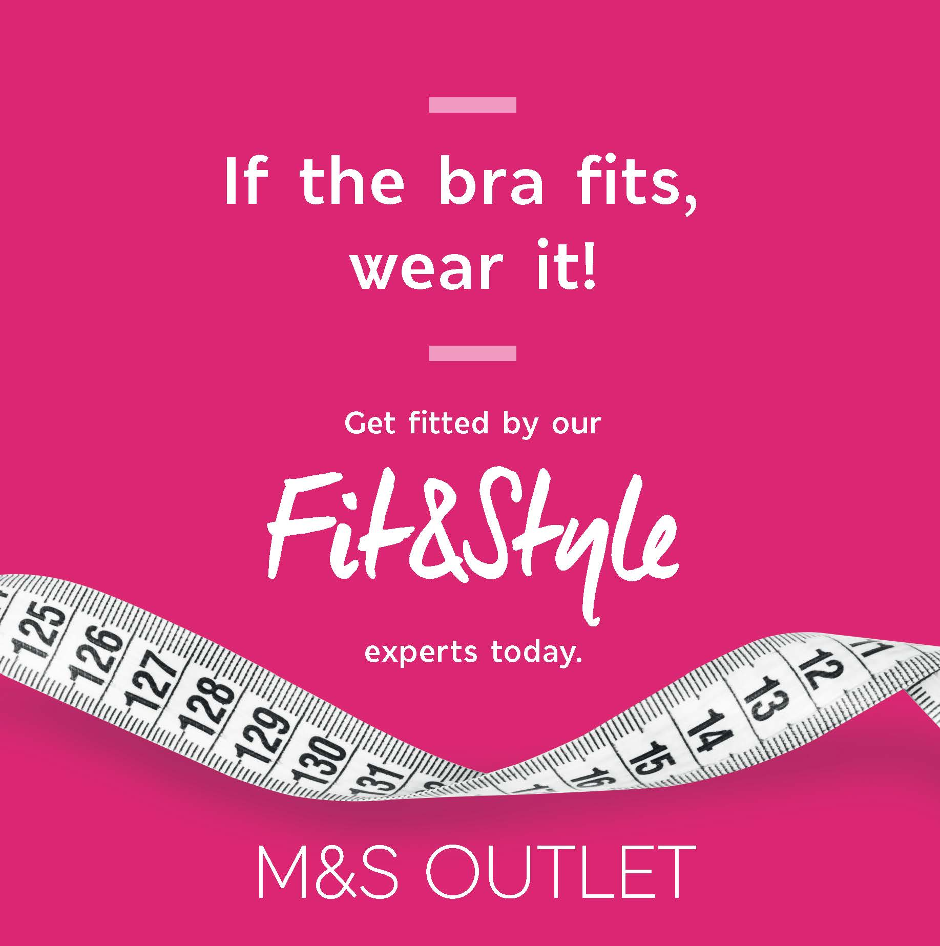 The Bra Fit Campaign with M&S Outlet