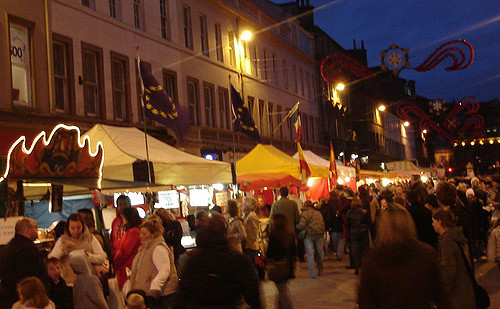 """West Bromwich Town Centre """"Continental Market"""" Wednesday 6th April 2016 to Saturday 9th April 2016"""
