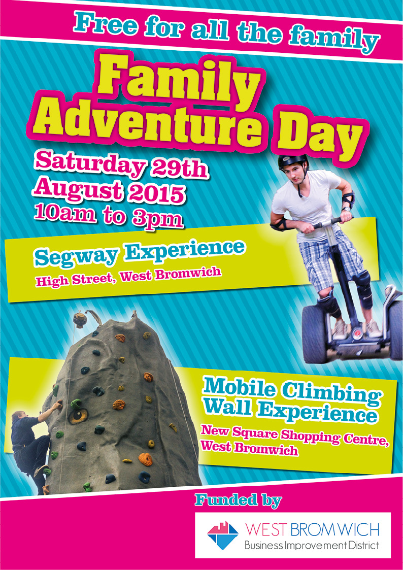"""FREE"" Family Adventure Day taking place tomorrow"