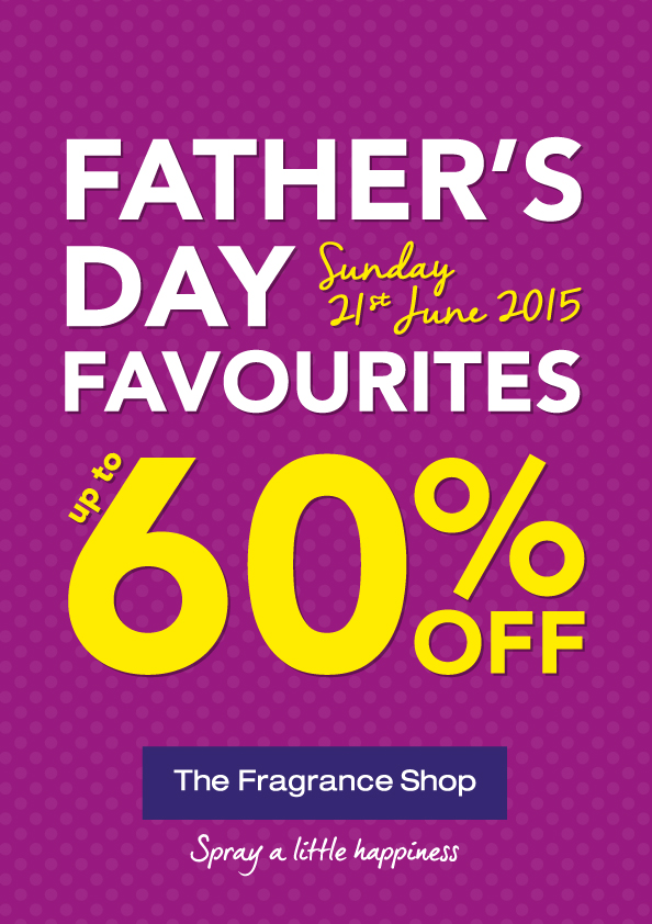 Fathers Day gift at The Fragrance Shop, Kings Square Shopping Centre, West Bromwich