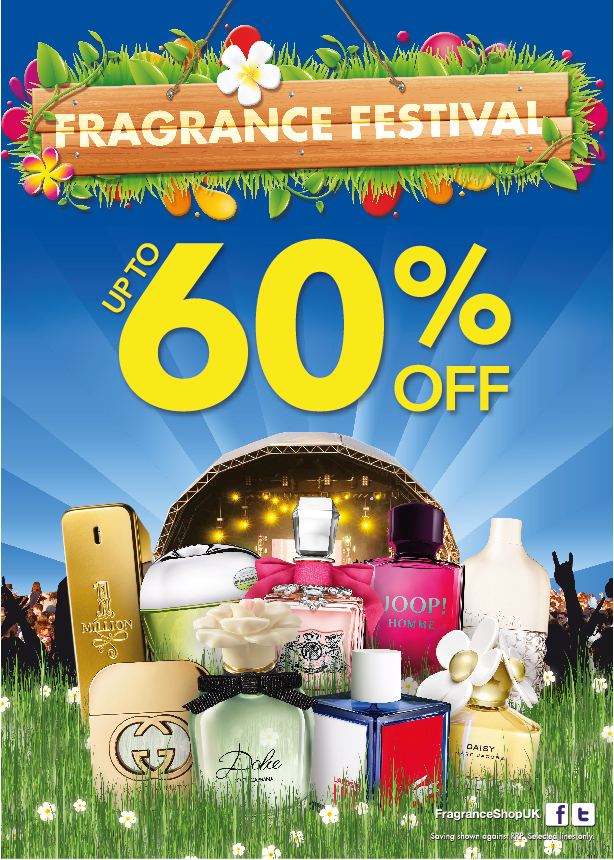 Festival Fever has arrived at The Fragrance Shop, Kings Square Shopping Centre, West Bromwich