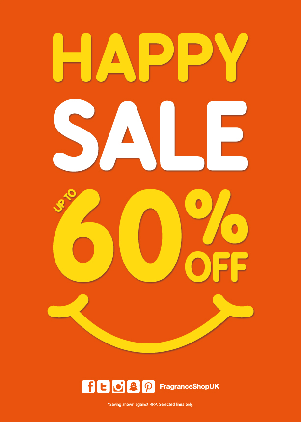 Happy Sale at The Fragrance Shop, Kings Square Shopping Centre, West Bromwich