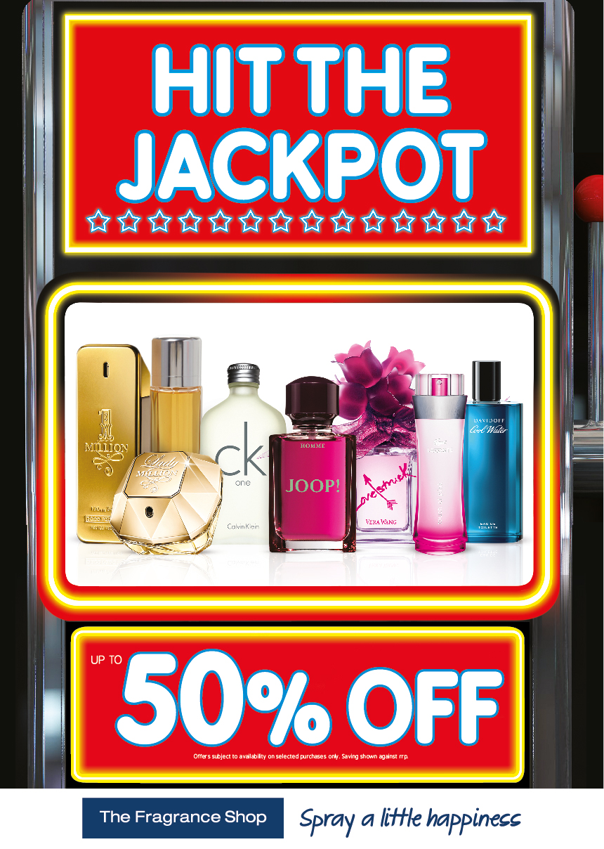 The Fragrance Shop – Hit the Jackpot