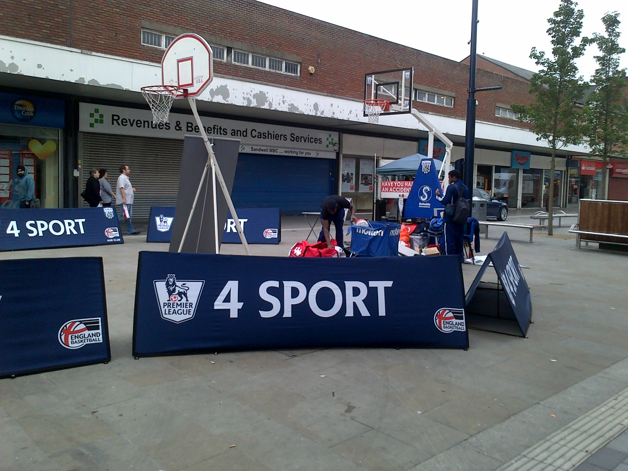 "West Bromwich Albion Foundation – Basketball Event ""TODAY"""