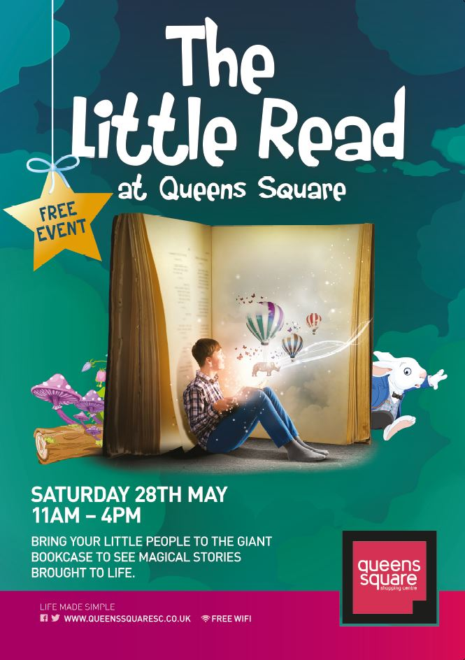 """""""The Little Read"""" in Queens Square Shopping Centre, West Bromwich"""