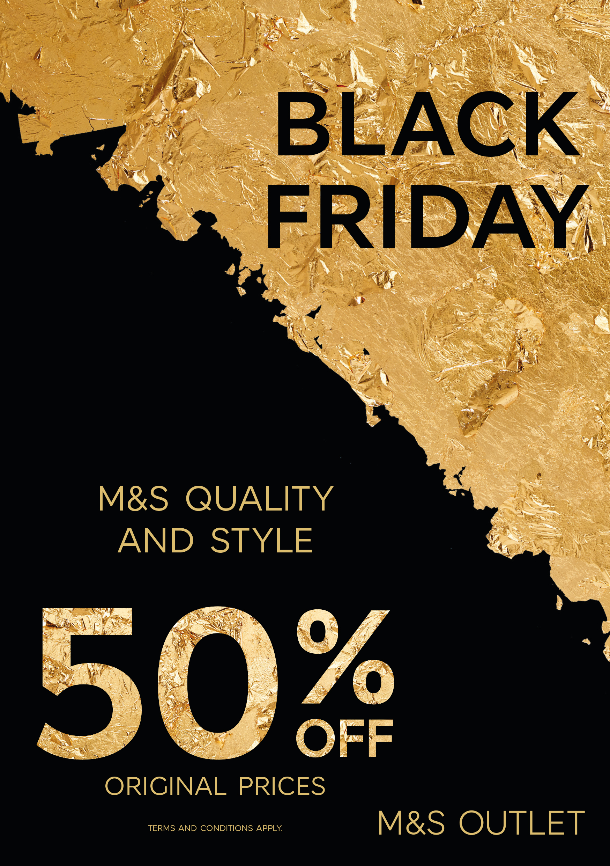 M&S Outlet Black Friday