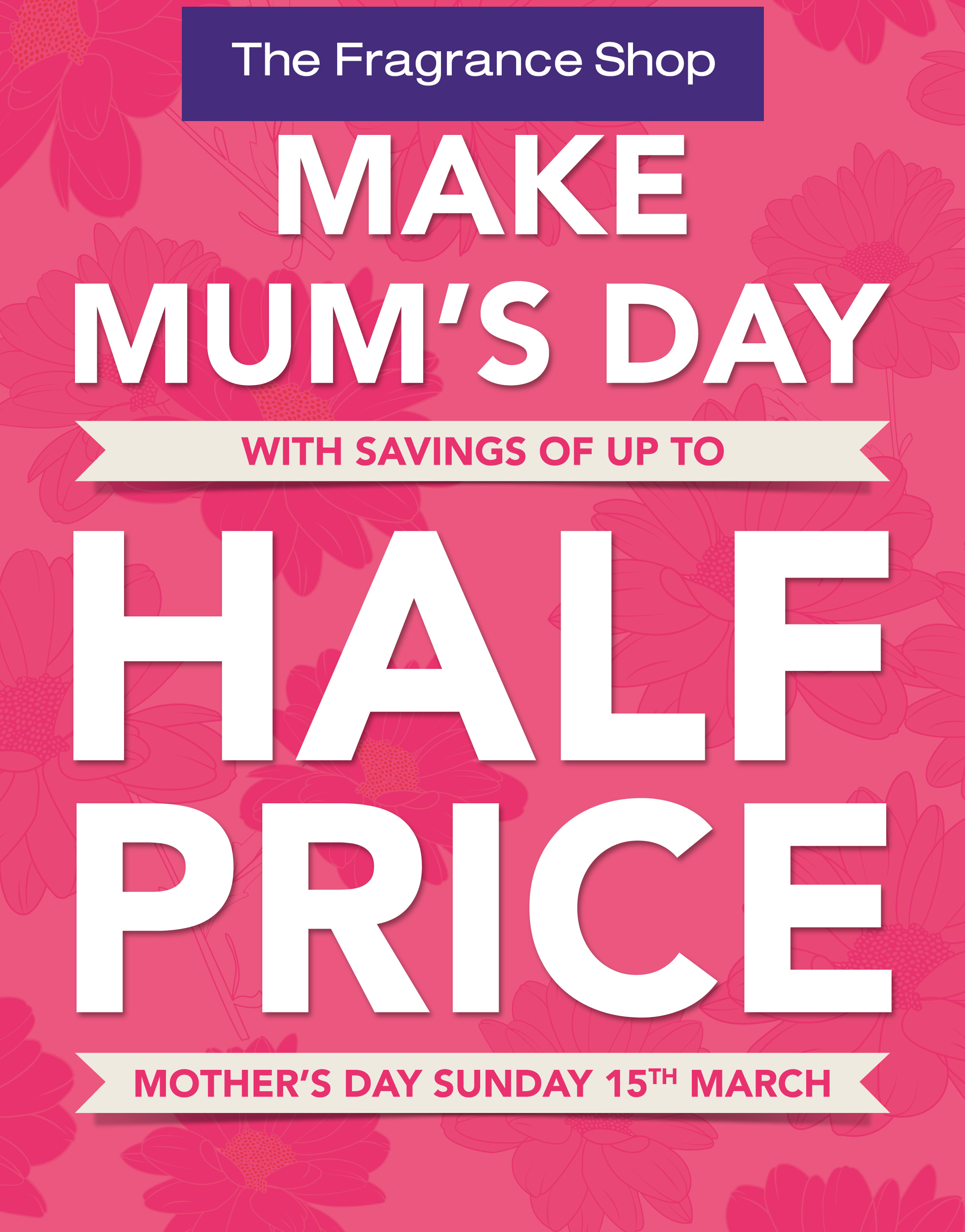 Mothers Day treat from The Fragrance Shop, West Bromwich