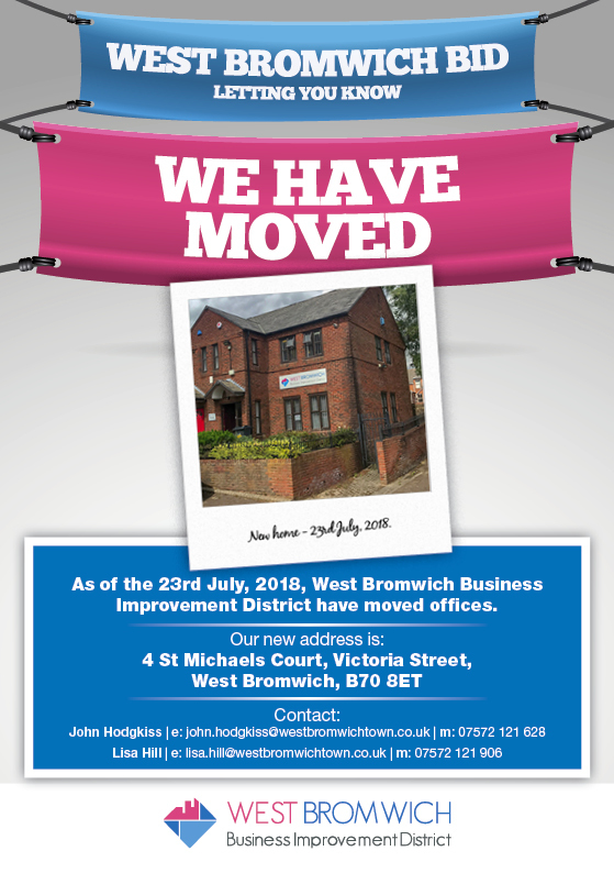 New Office for West Bromwich Town BID