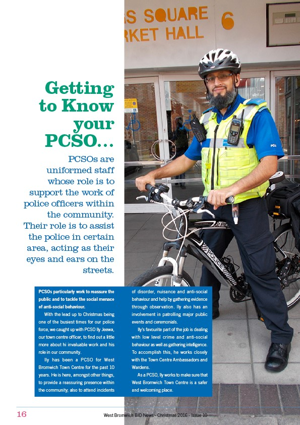Getting to know your PCSO