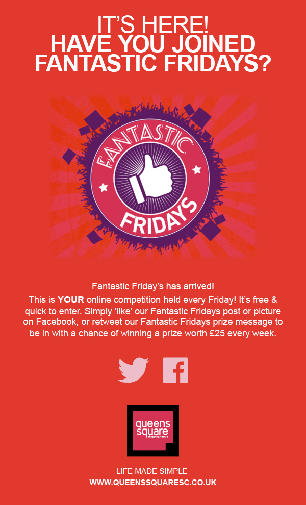 Fantastic Fridays in the Queens Square Shopping Centre