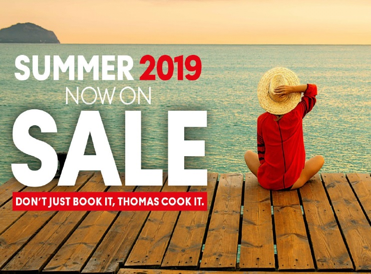 Summer 19 programme for Thomas Cook