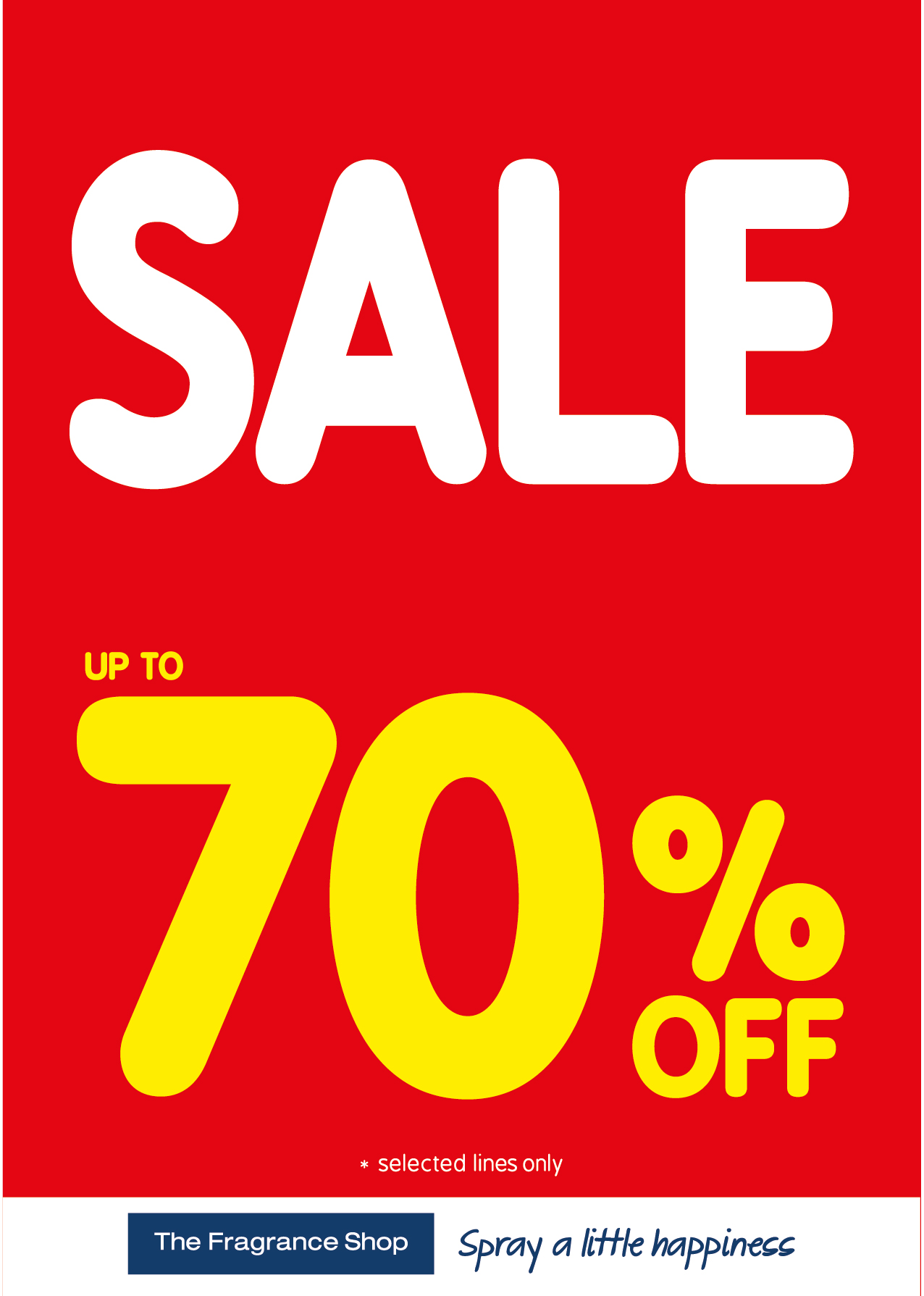 70% off in Fragrace Shop, Kings Square Shopping Centre, West Bromwich