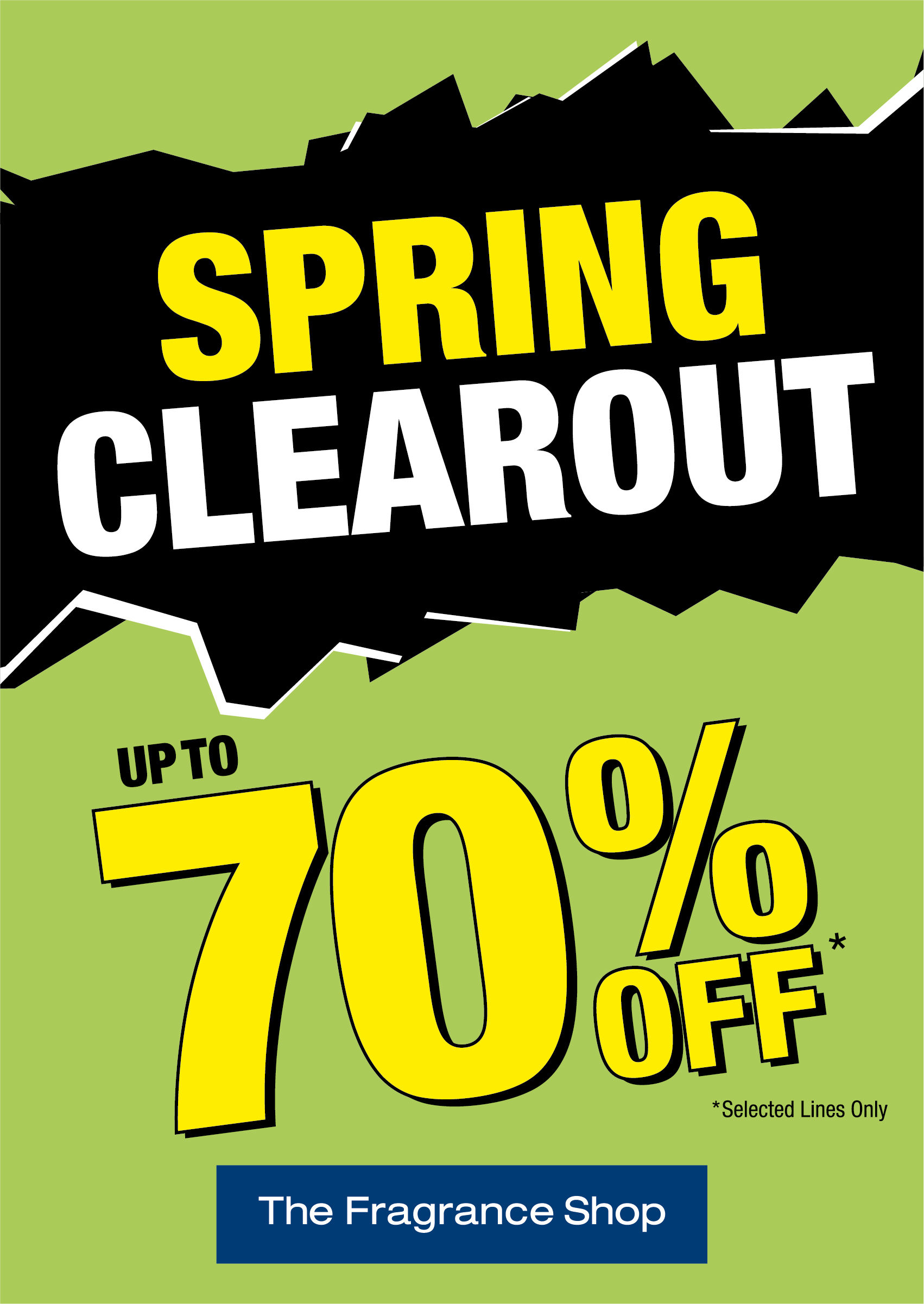 "The Fragrance Shop ""Spring Clearout"""