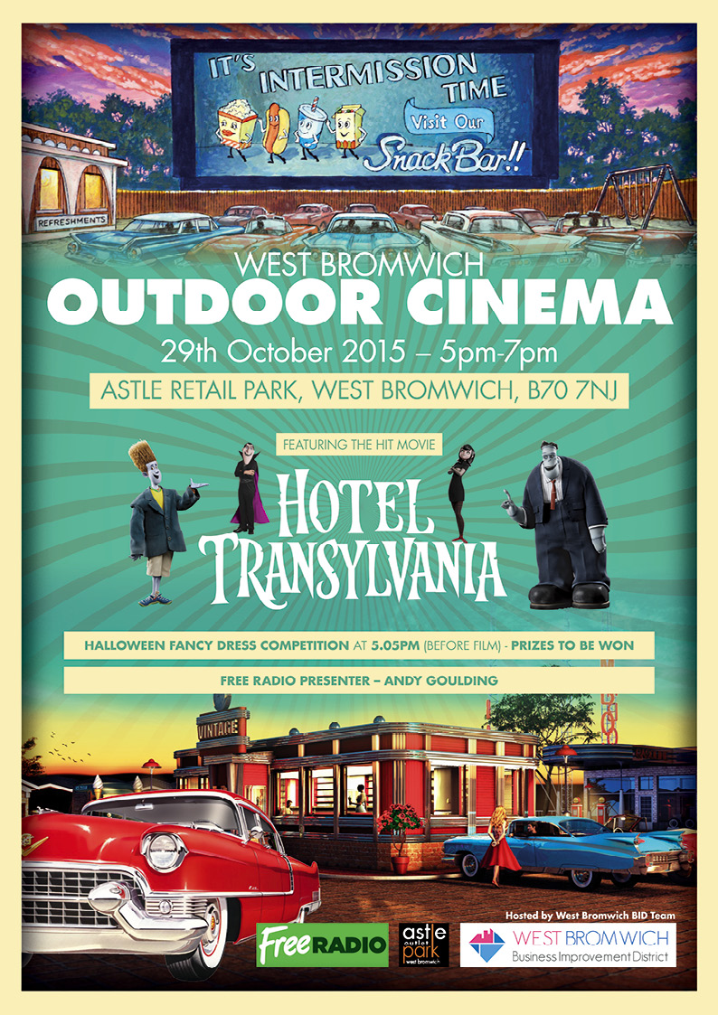**DONT MISS THE FREE EVENT** Outdoor Cinema Event 29th October 2015