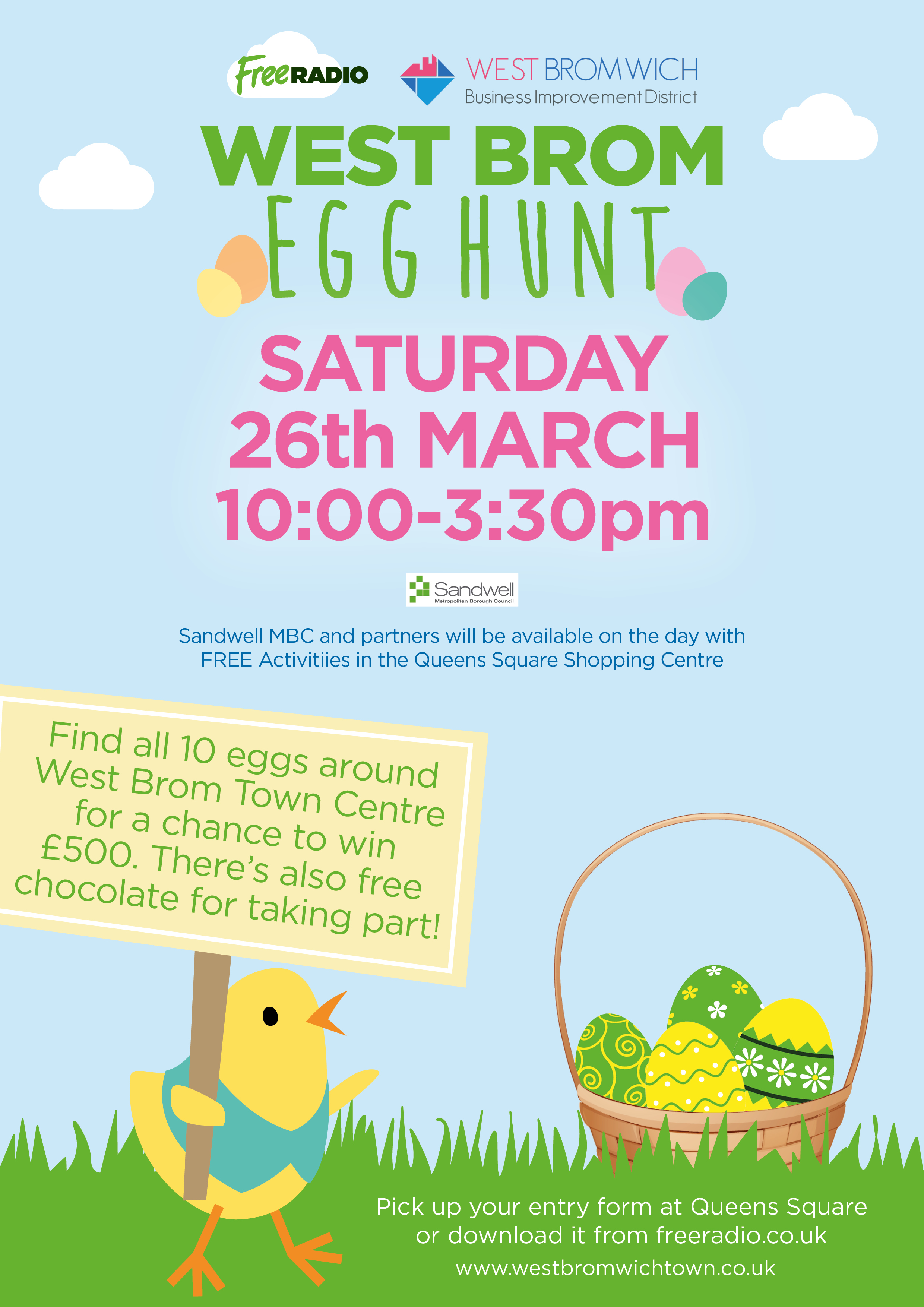 **DONT MISS EVENT TODAY**  West Bromwich Easter Egg Hunt !!!!!