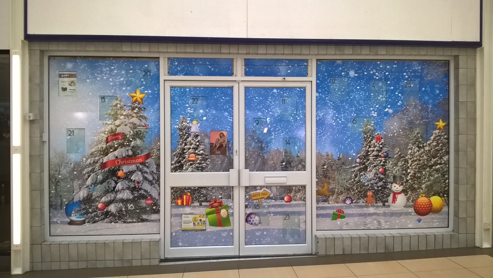Advent Calendar, Queens Square Shopping Centre