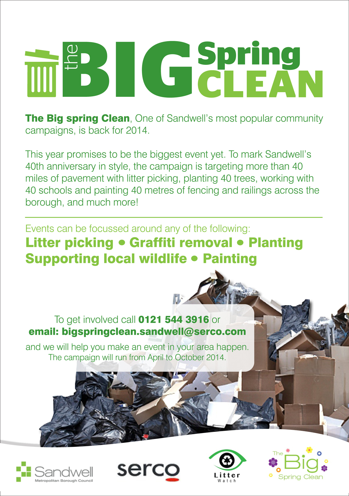 The Big Spring Clean in Sandwell