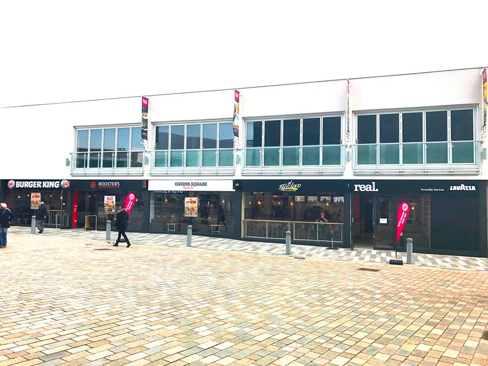 Queens Square Food Court new in West Bromwich Town Centre