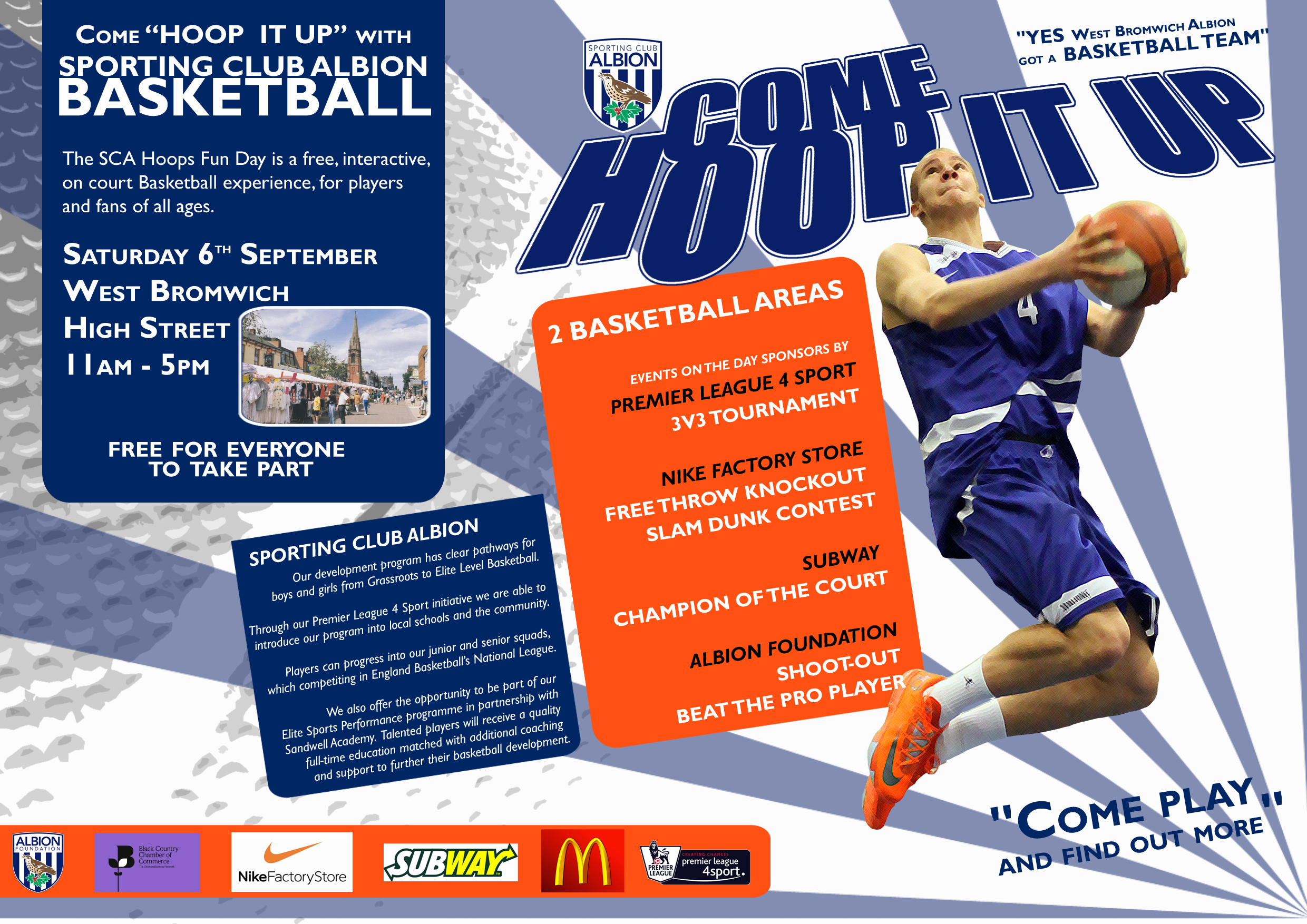 **DONT MISS** Hoop-it-up Event tomorrow in West Bromwich Town Centre