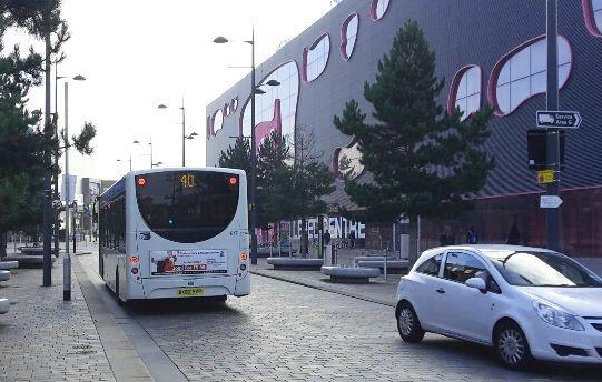 New Street, West Bromwich traffic proposals