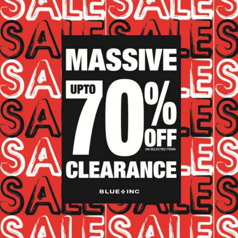 Blue Inc Massive Sale
