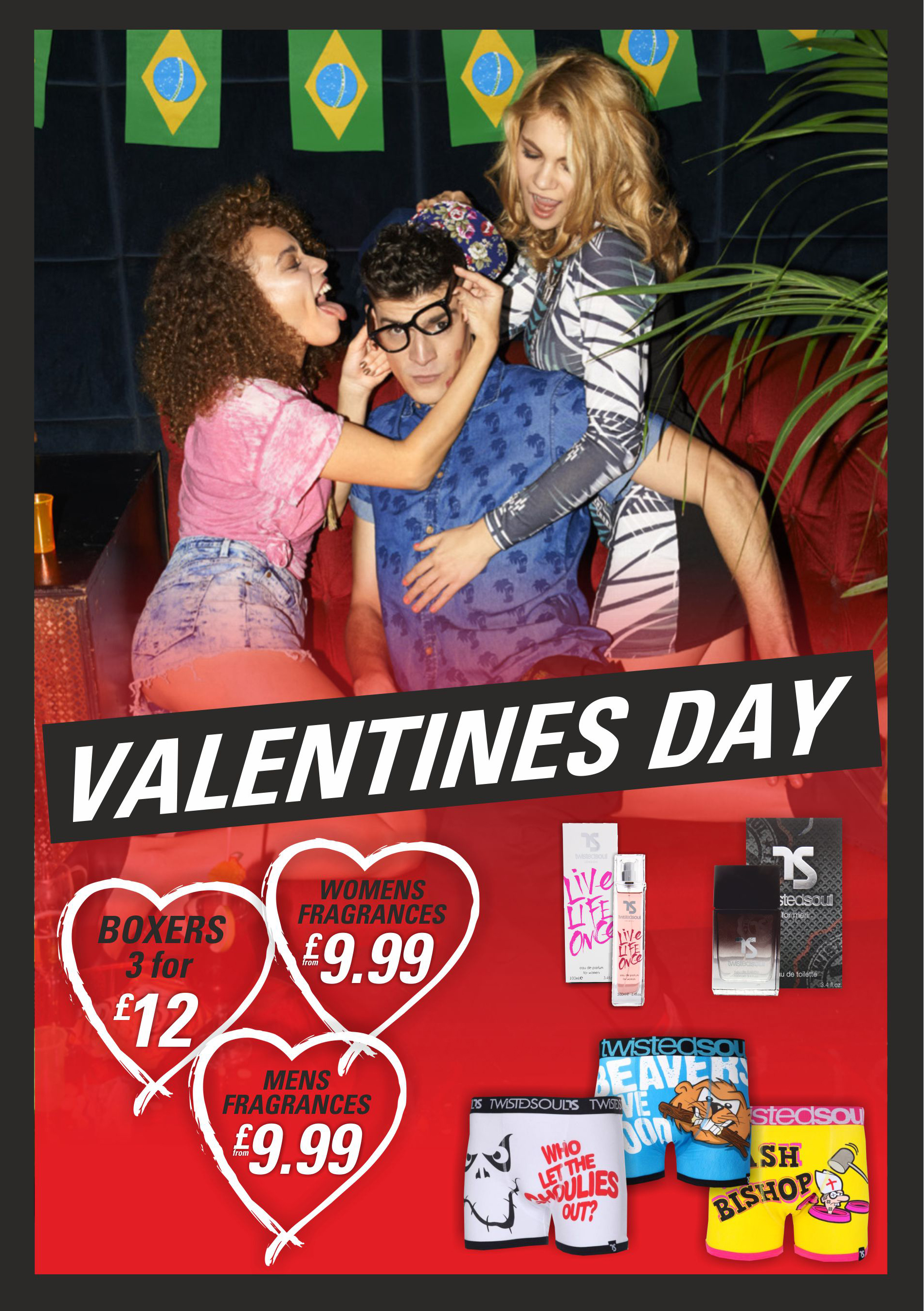 Blue Inc, New Square, West Bromwich – Valentine's Special Offers