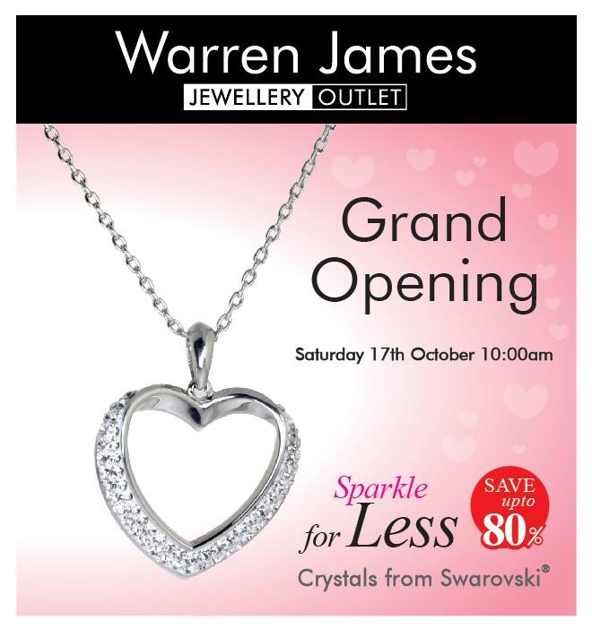 New store opening in New Square, West Bromwich – Warren James