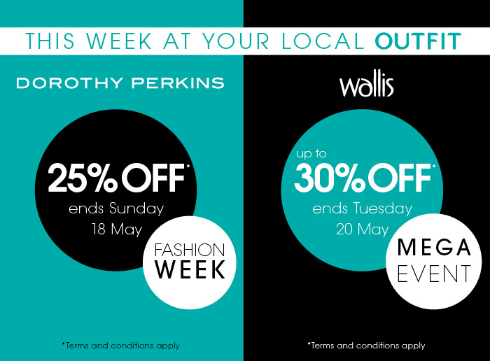 Special Offers on at Outfit, West Bromwich