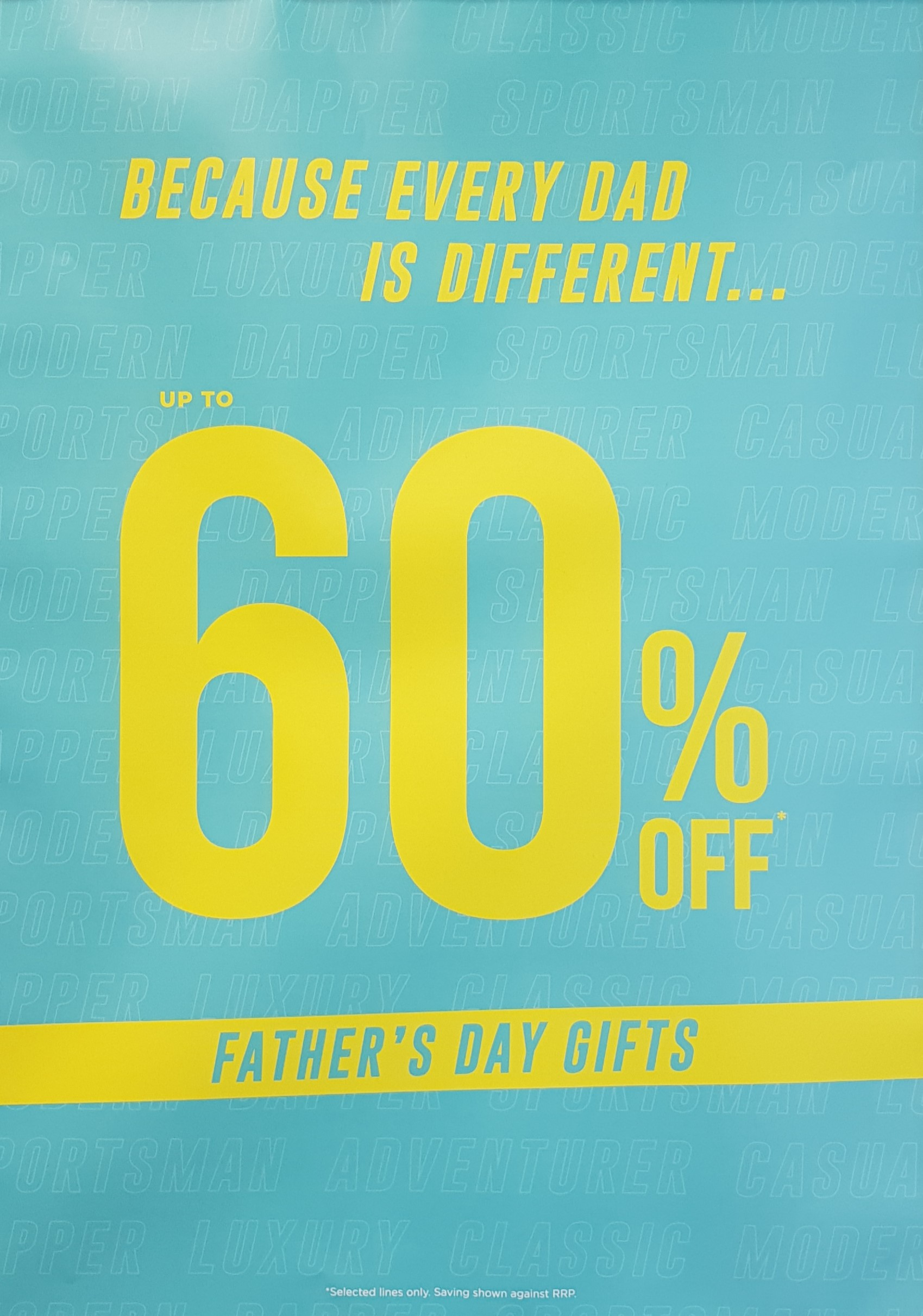 Father's day offer at The Fragrance Shop