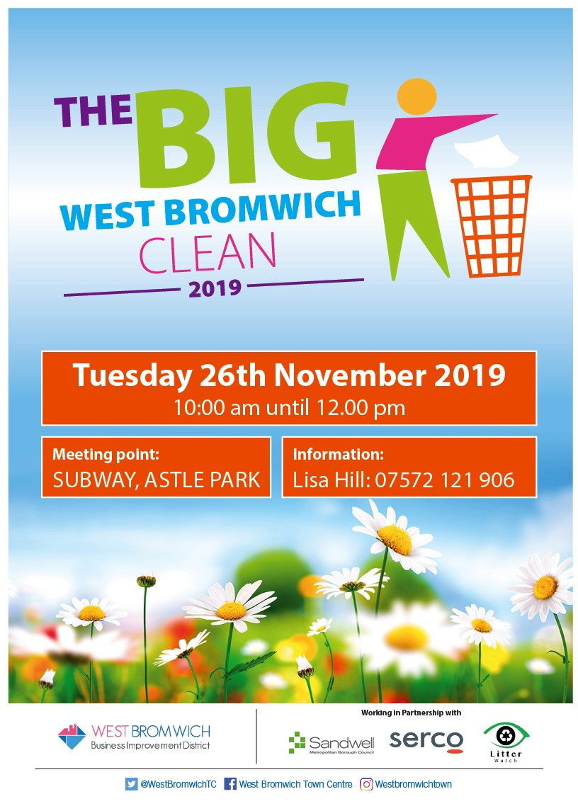 Town Centre Litter-Pick 26th November 2019