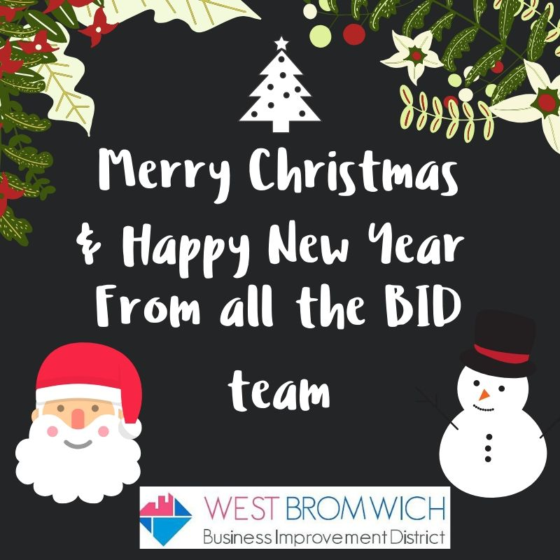 Merry Christmas from West Bromwich BID Team