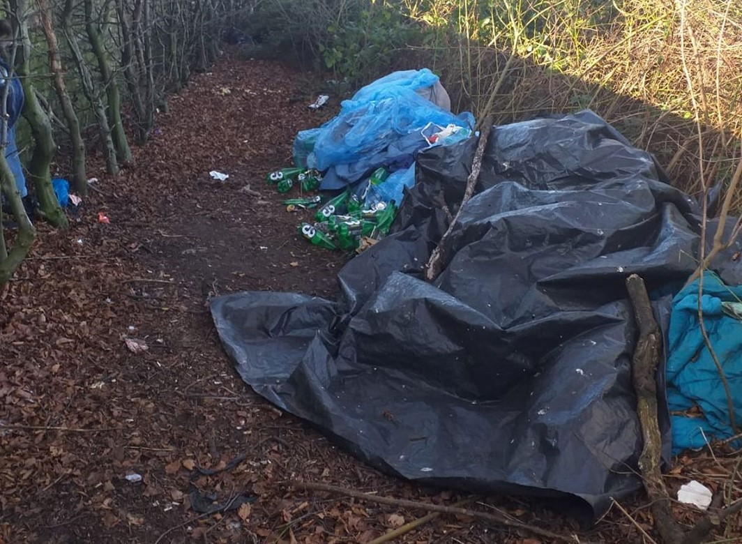 West Bromwich Town BID – on the fly tipping hunt!!!