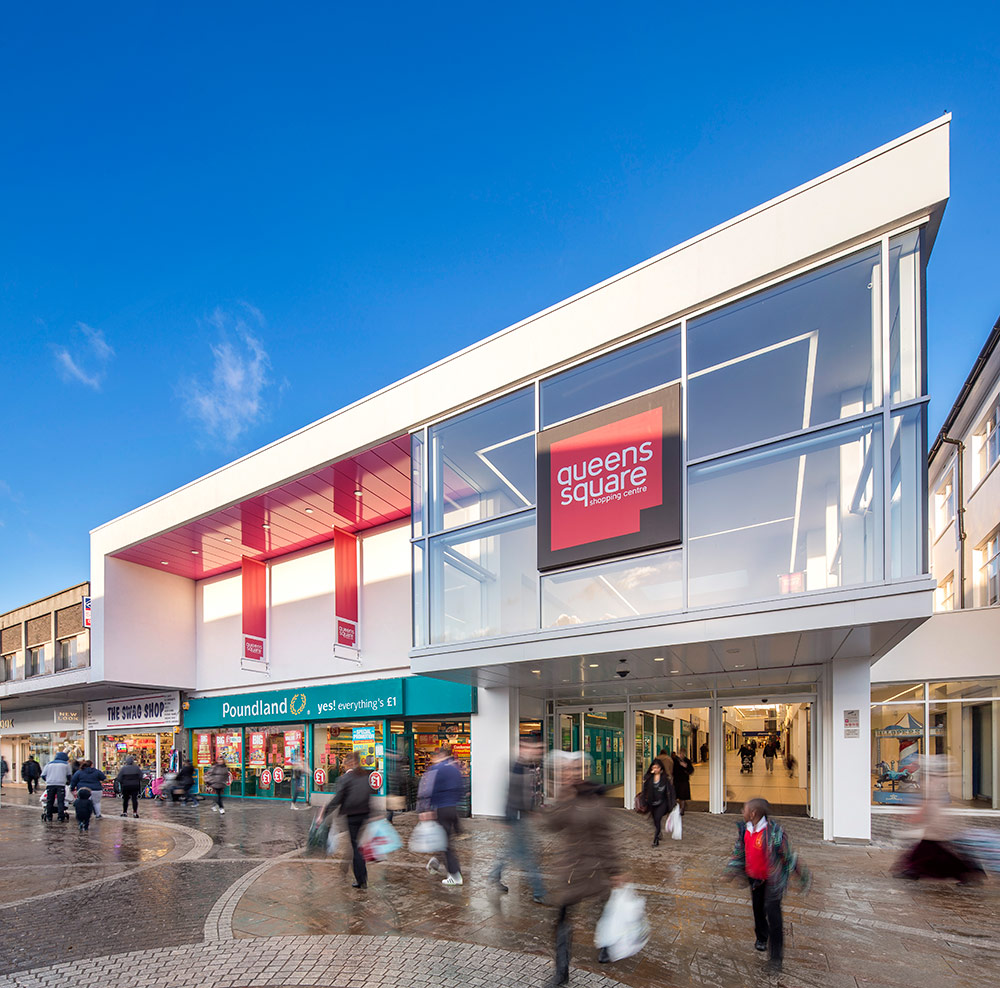 Queens Square Shopping Centre