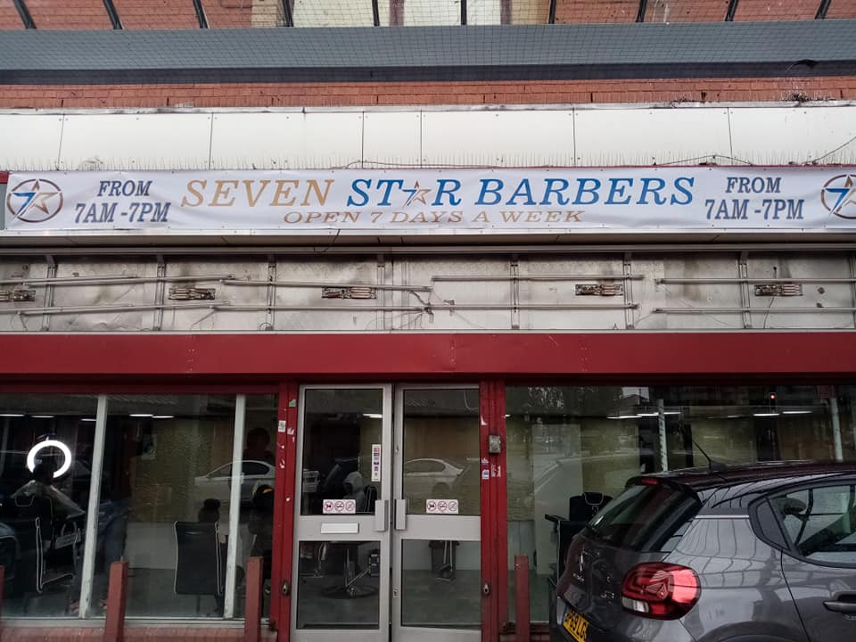 New Business – Seven Star Barbers