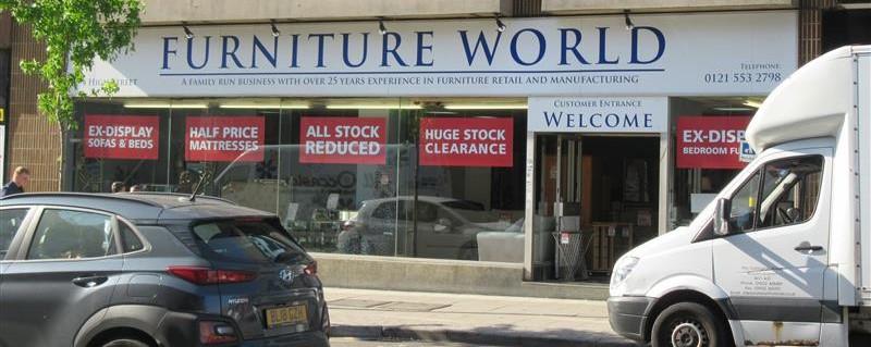 Furniture World – 294 High Street, West Bromwich