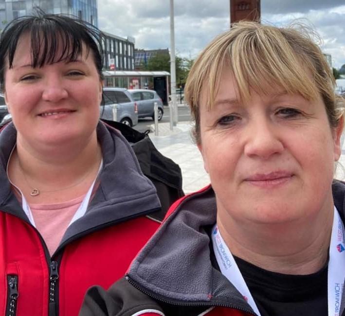 West Bromwich Town BID Team on Patrol!