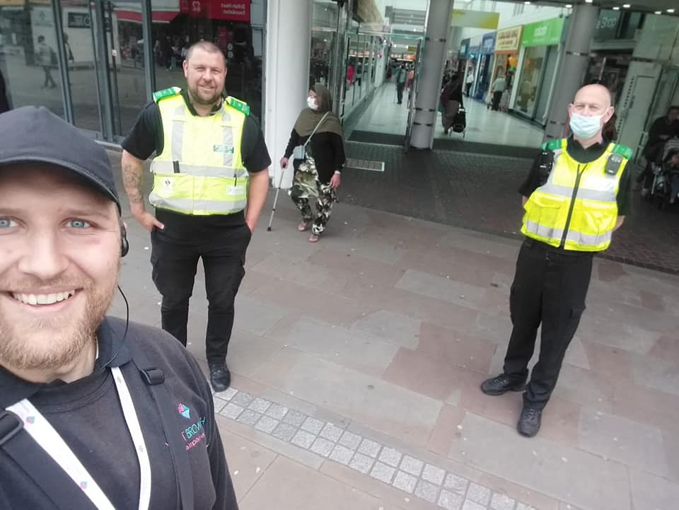 Joint Patrols with West Bromwich Police and Sandwell Council