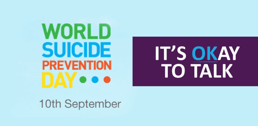 World Suicide Prevention Day – Its ok not to be ok