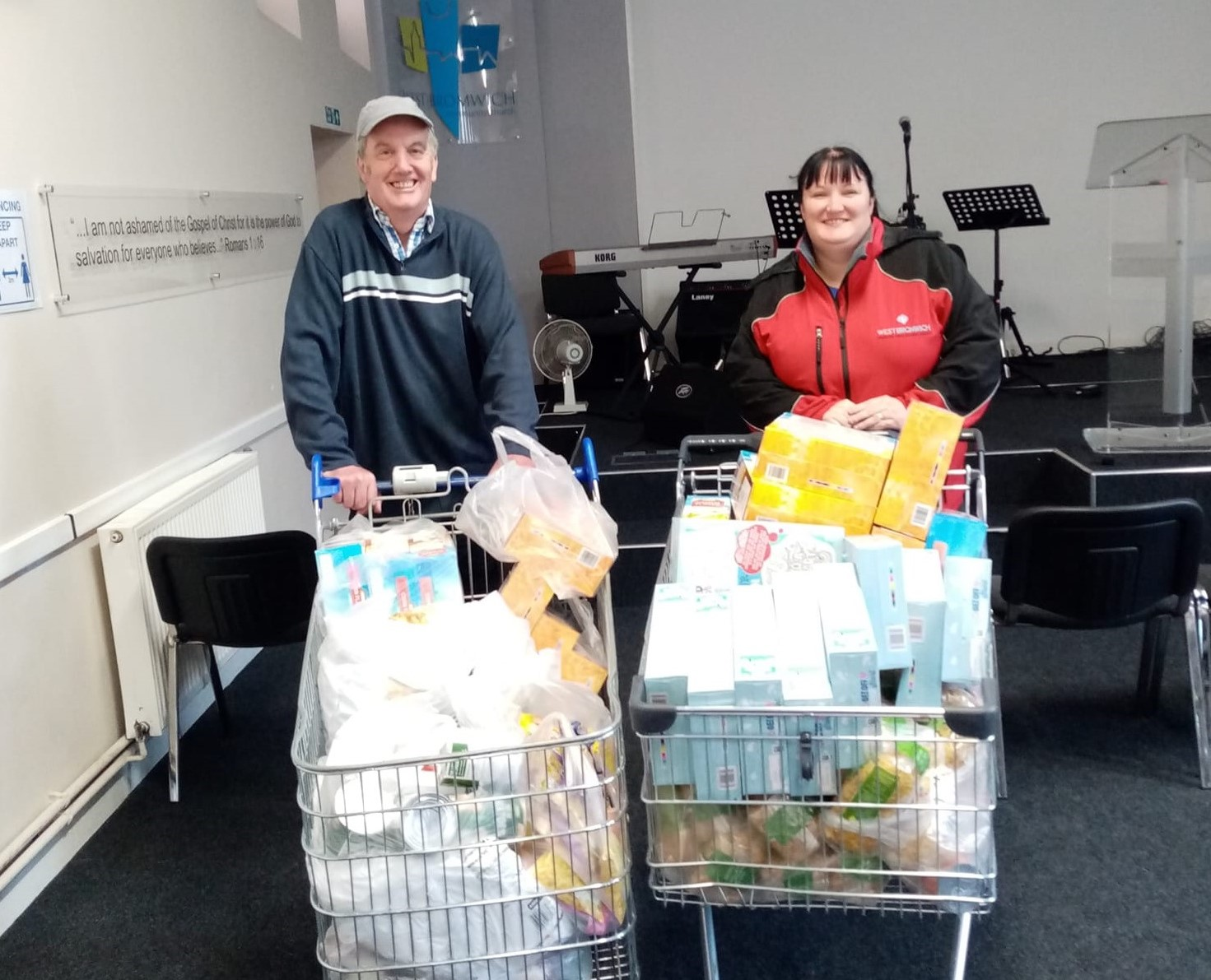 August Food Bank Drive – Our 3rd and Final Delivery!