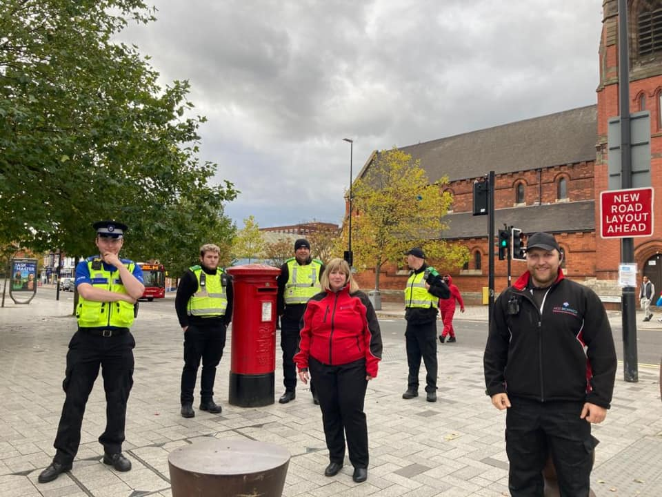 Joint Patrols between the BID, West Bromwich Police & Sandwell Council