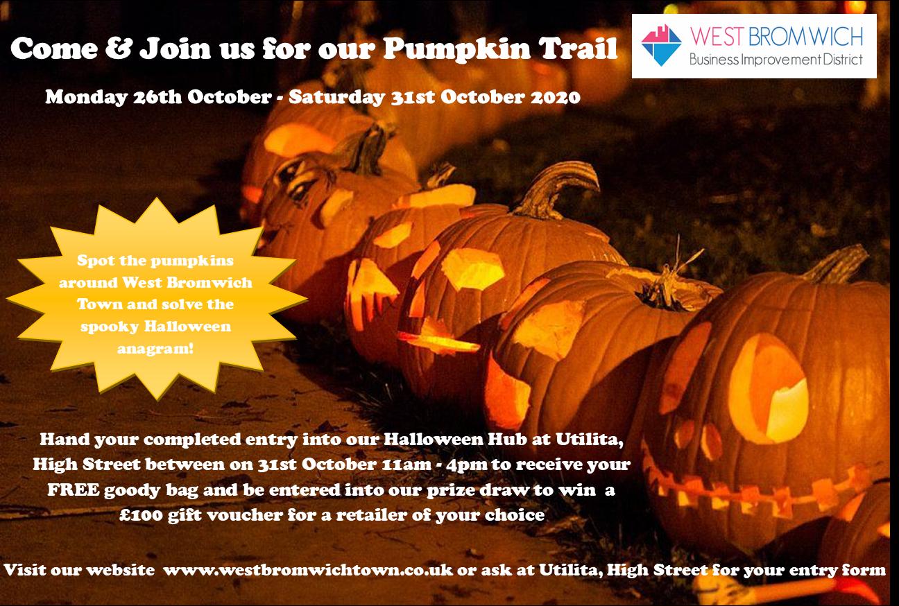 West Bromwich Town BID Pumpkin Trail