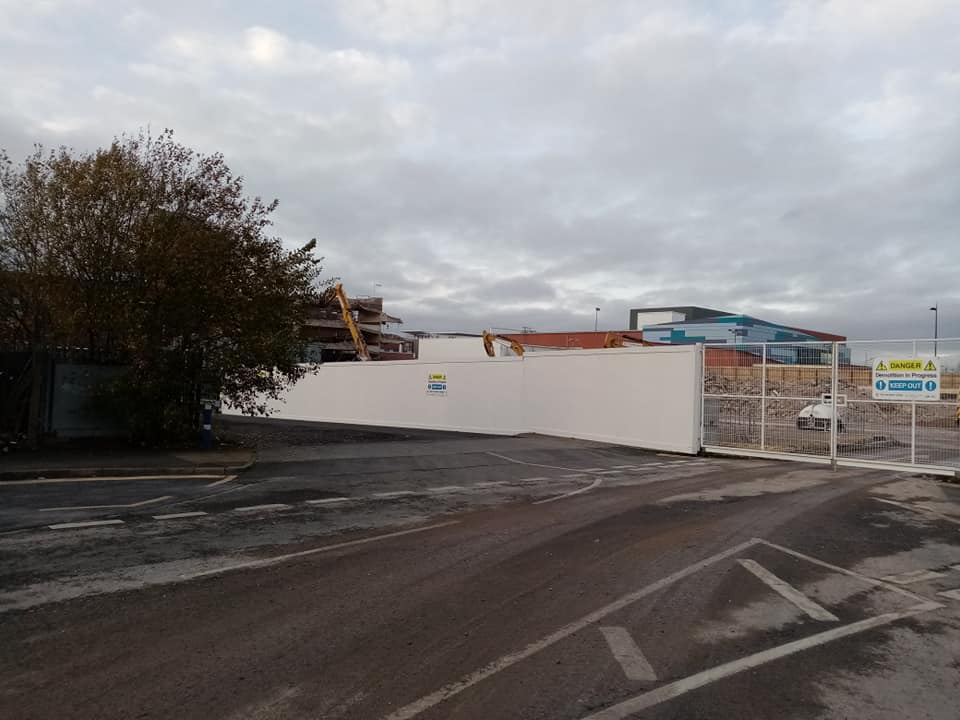 Demolition of Bull Street Car Park