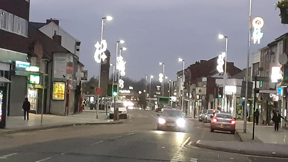 Its Christmas in West Bromwich!