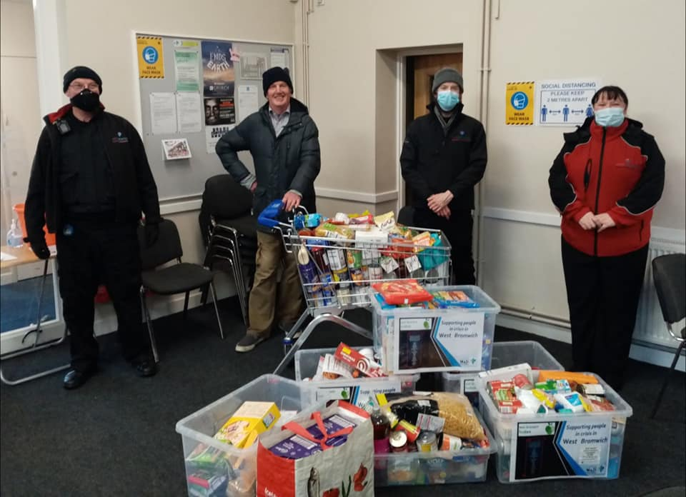 December Food Bank Drive – West Bromwich Food Bank (Part 1)