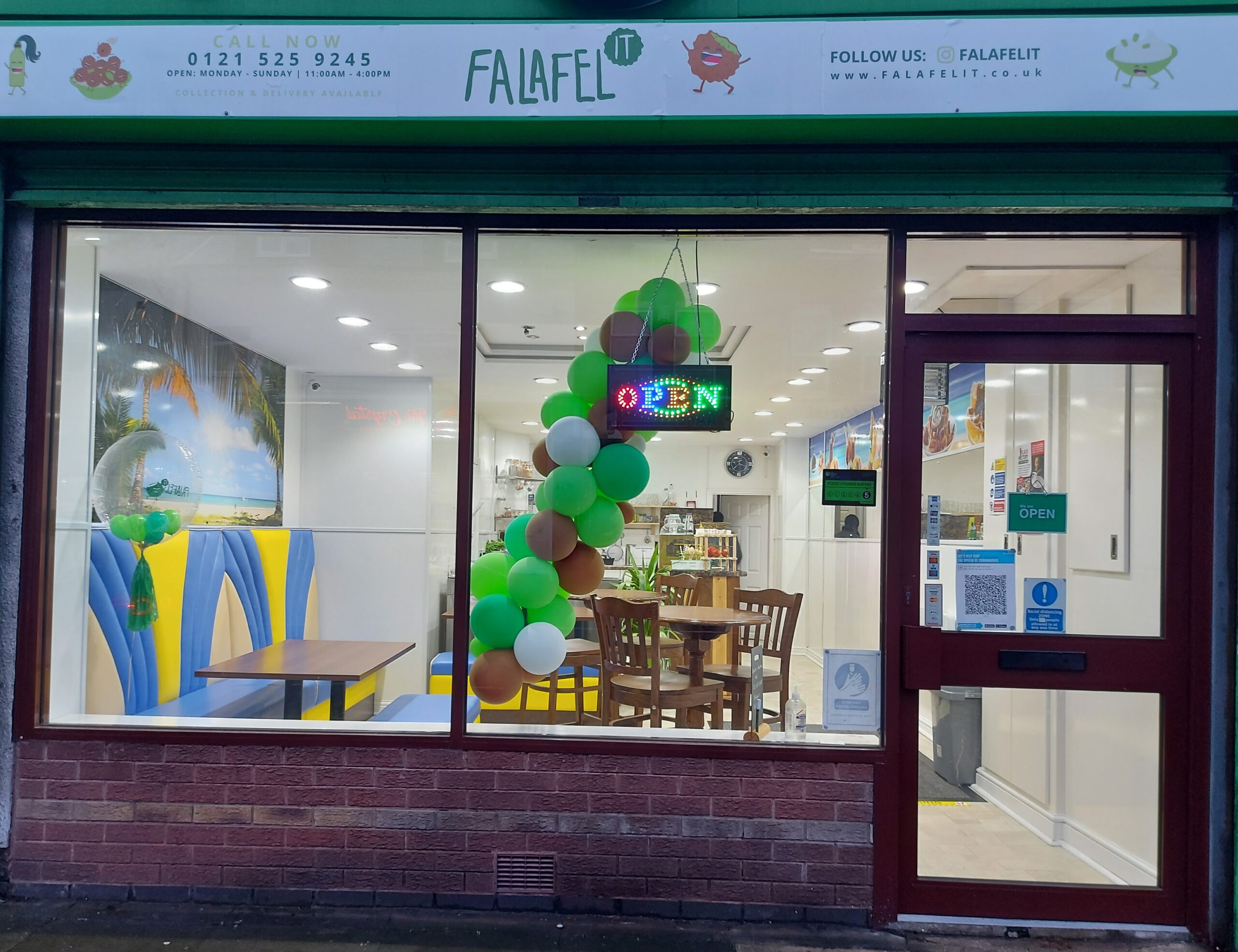 Celebrating our Small Businesses – Falafel It
