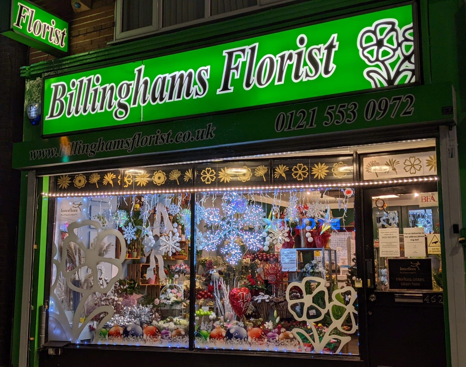 Celebrating Our Small Businesses – Billingham's Florist, Carters Green
