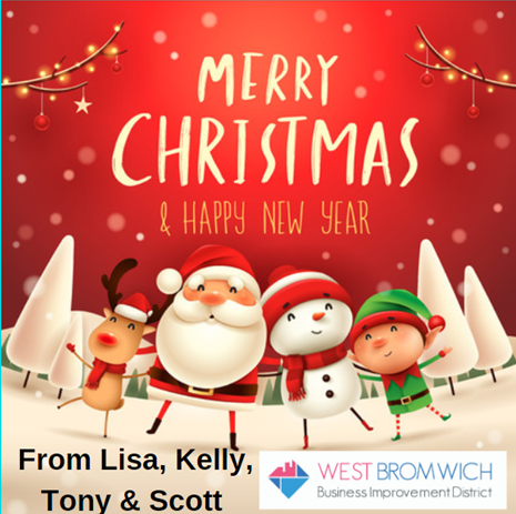 Merry Christmas from West Bromwich BID