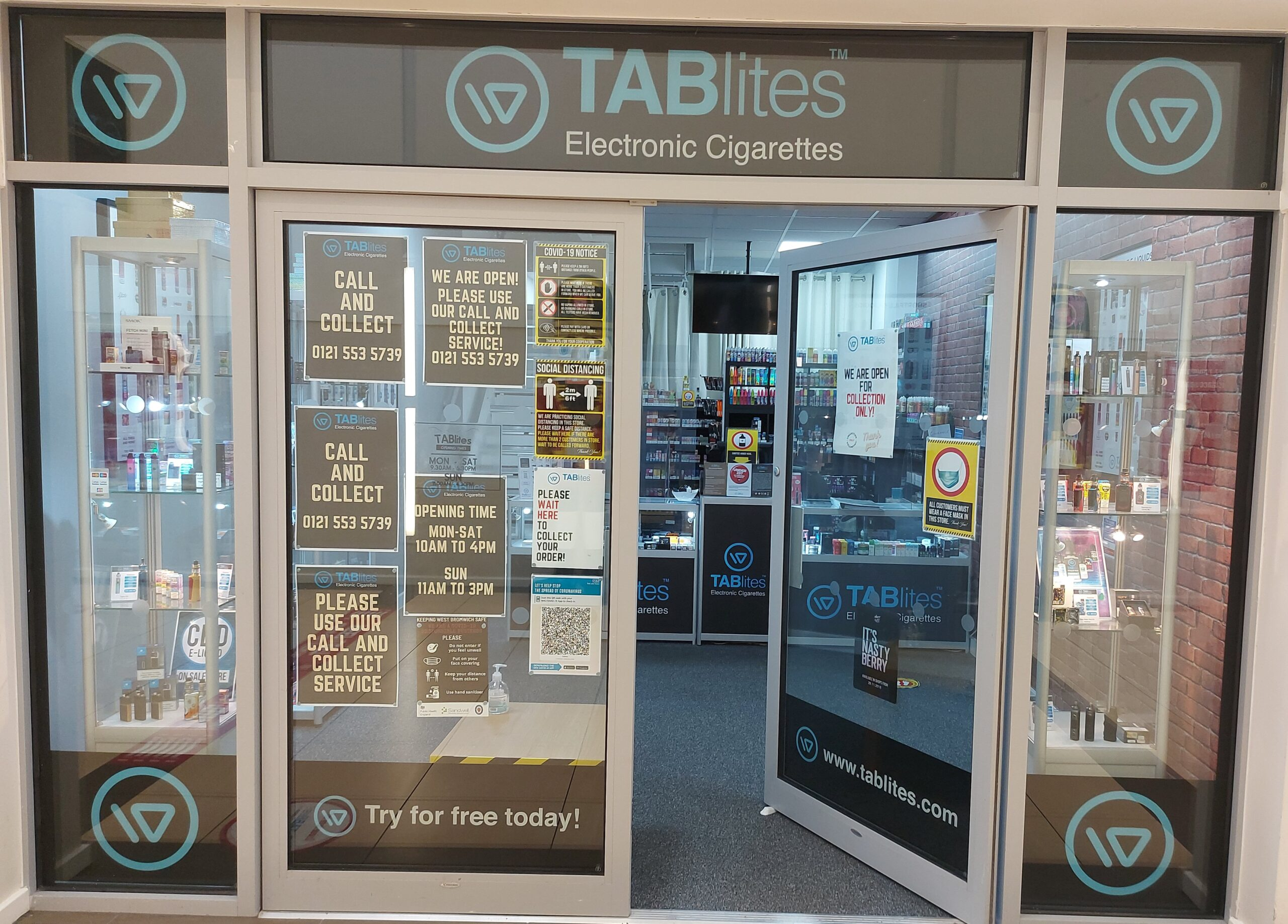 Celebrating our small businesses! TABlites – Queens Square Shopping Centre